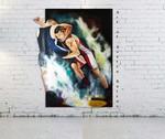Wrestling painting